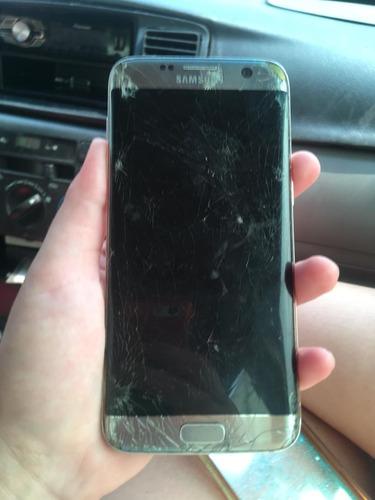 9b4d959a277 Samsung S7 Edge 32gb Liberado Con Caja Detalle Pantalla - Bs. 1.500 ...