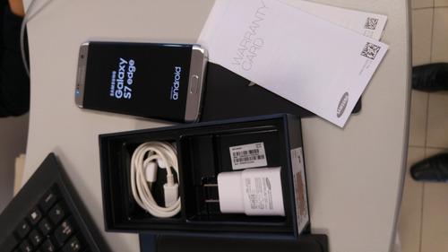 samsung s7 edge libre 4g  en caja  + lo menos 7300 +