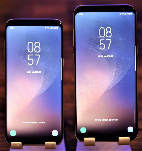 samsung s8 665 y s8 plus 780,android 7,garantia 1año,4gbram