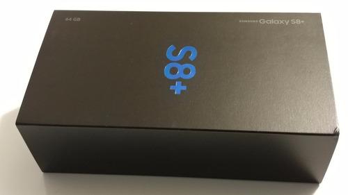 samsung s8 plus 4g 64gb 4gb ram nuevo s8+ dual sim sellado