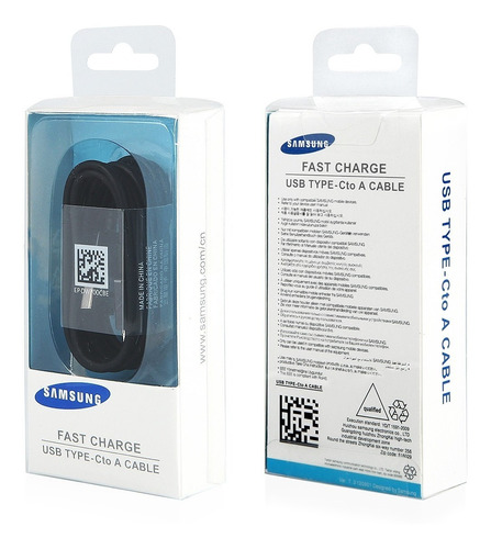 samsung s8 s8 plus cable usb tipo c 100% original garantia