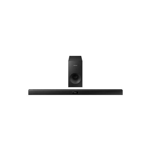 samsung - serie 300 de 2.1 canales barra de sonido con conex