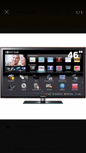samsung smart led tv 46 pol.(c=1,10a=0,72l=0,30p=20k)