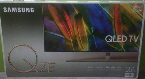 samsung smart tv qled uhd 55'' 55q7f - nuevo sellado