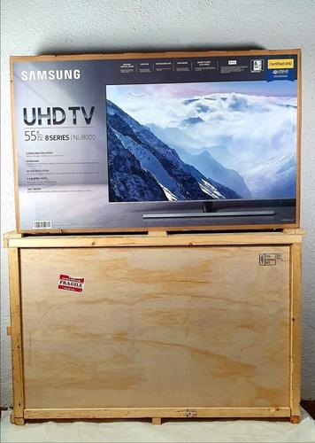 samsung smart tv serie 8 nu8000 led tv 55 pulgadas 4k uhd