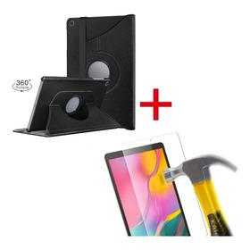 Samsung Tab A 10.1 T510 2019 Funda Cover 360° + Mica Vidrio