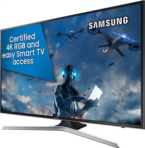 samsung televisor smart tv 55 uhd 4k, 2 años de garantia