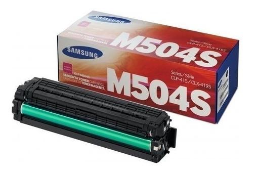 samsung toner - clt-m504s-xaa (en oferta al 50% de descuento