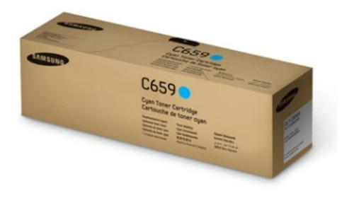 samsung toner original clt-c659s/xaa cyan en liquidacion