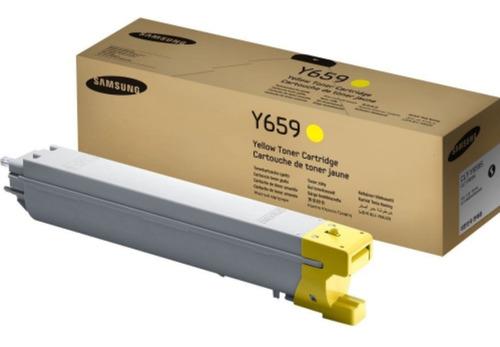 samsung toner original clt-y659s amarillo en liquidacion