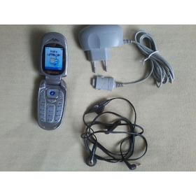 Samsung X480 ( Da Oi Ou Tim)   Pequeno Flip Todo Original