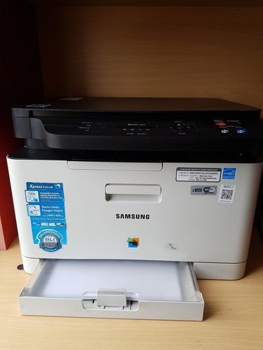 samsung xpress sl-c480w - impresora multifunción láser color