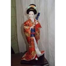 samurai  geihsa figuras decoracion bazar james la pintana