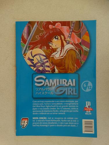 samurai girl n° 06! jbc setembro 2007!