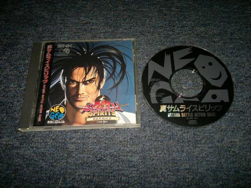 samurai spirits completo para neo geo cd,excelente titulo.