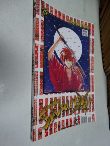 samurai x n° 25! jbc agosto 2002!