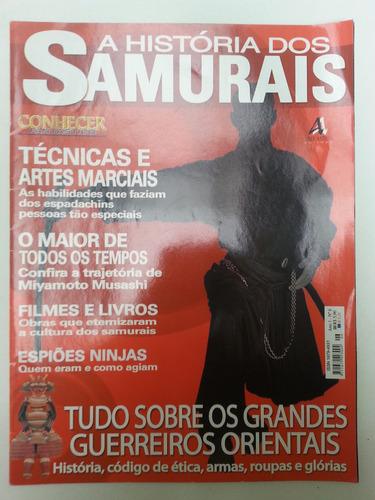 samurais - revista conhecer fantástico - história verdadeira