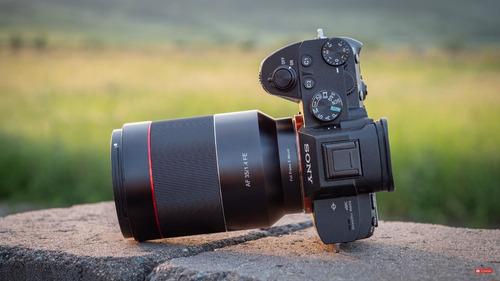 samyang 35mm f1.4 e sony full frame. no hongos no rayones