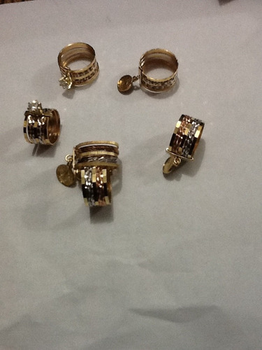 san benito anillo con medalla chapa oro en semanario unico
