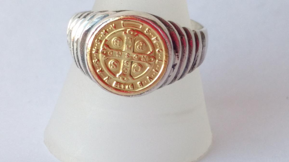 258de093f03 san benito anillo plata y oro 18 vulevu joyas. Cargando zoom.
