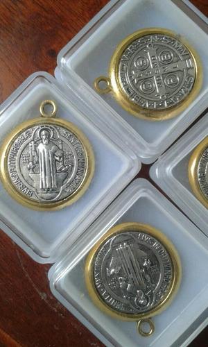san benito.  st. benedict  - medalla bendita exorcismo