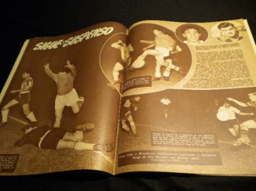 san bernardo central formacion 1958 revista estadio
