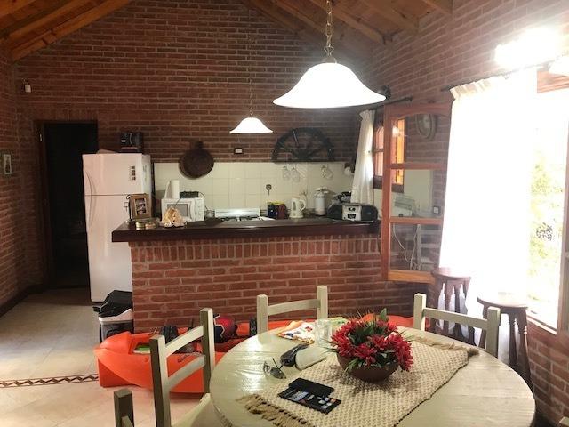 san bernardo - chalet 3 ambientes garaje - gran parque!!!!