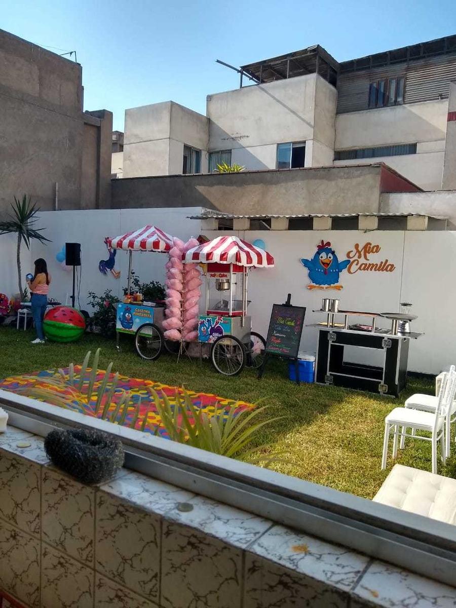 san borja, salón con jardí. t 977821346n s/700.00