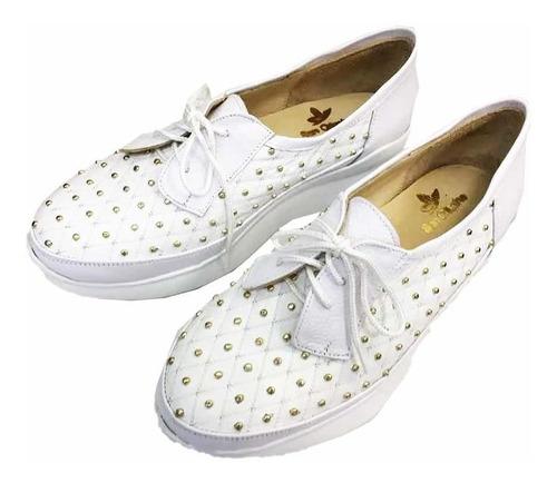 san crispino zapatillas blancas 5226