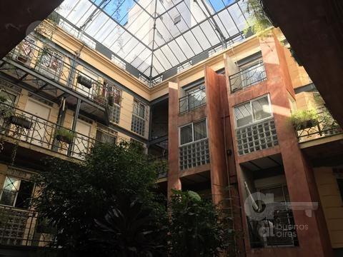 san cristobal. moderno duplex con terraza en alquiler temporario.