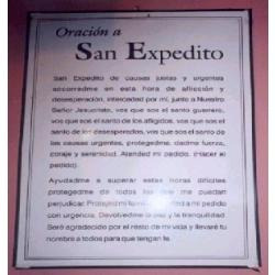 san expedito estampitas