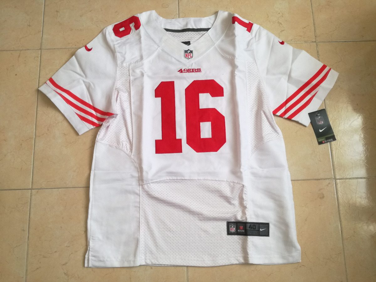 separation shoes b7fa1 f8d82 San Francisco 49ers Joe Montana Jersey Nike Bordado Talla M