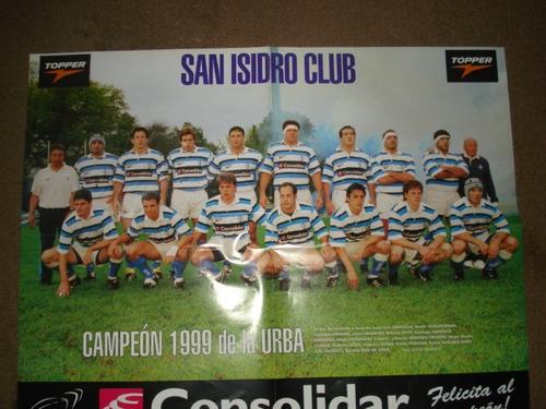 san isidro club-campeón 1999 de la urba-poster el grafico