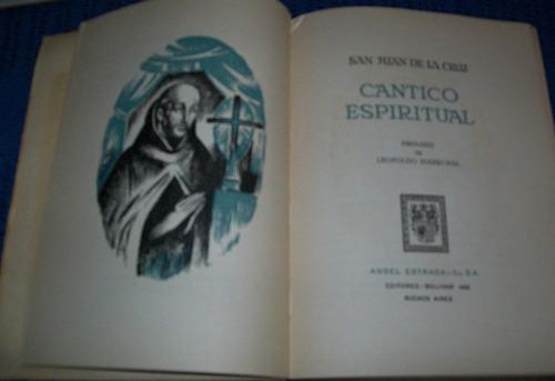 san juan de la cruz : cantico espiritual $9000
