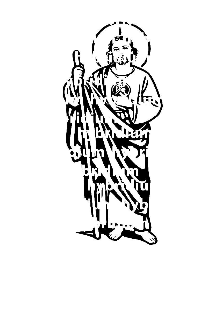 San Judas Tadeo Drawing 40763 Loadtve