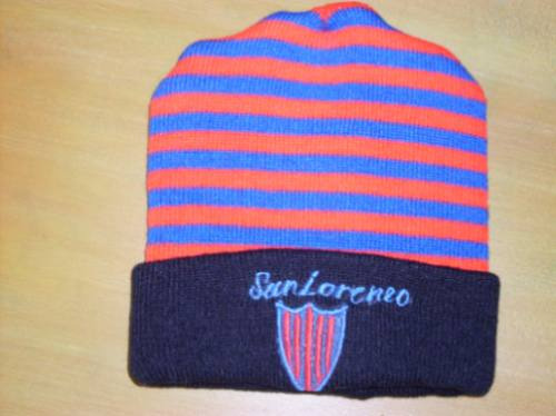 san lorenzo- gorra de lana
