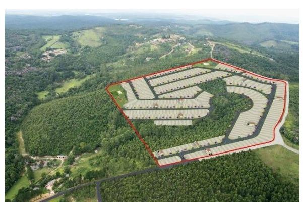san-lotes 125 m2- prontos p/ construir-180 meses  p/ pagar