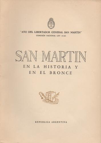 san martin en la historia y en el bronce