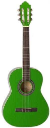 san mateo san mateo scs6 grn guitarra clásica de 36 pulgad