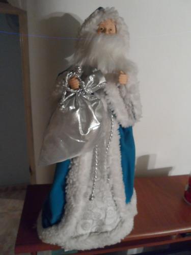 san nicolás papa noel espiritu de la navidad muñeco grande