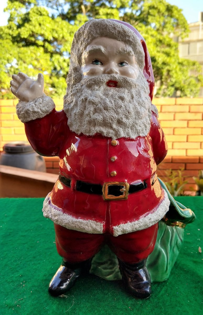 Imagenes De Papa Noel De Navidad.San Nicolas Santa Claus Papa Noel Navidad Ceramica Artesanal Bs 20 000 00