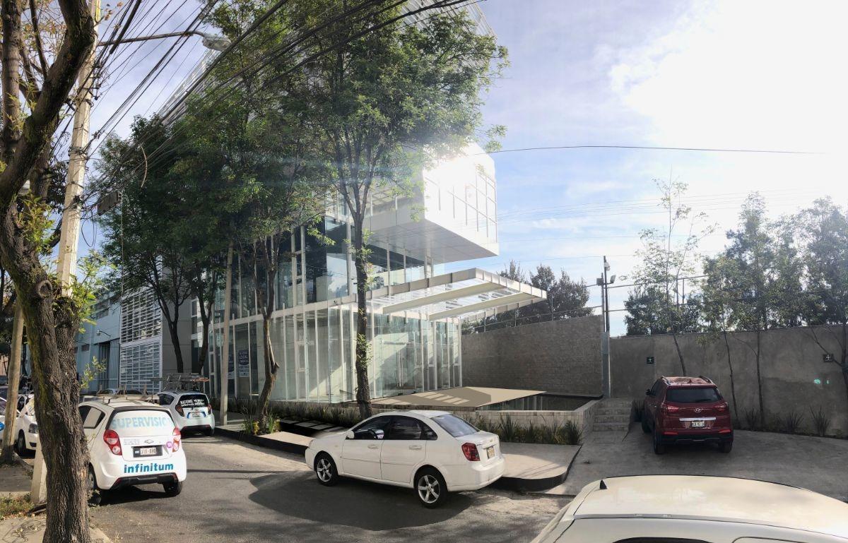 san pedro de los pinos, oficina en exclusivo desarrollo