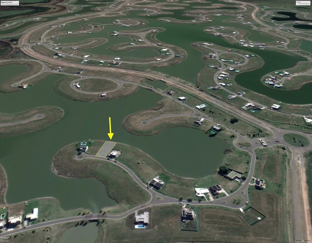 san sebastián area 10 lote 178 al lago excelente ubicacion y orientaci