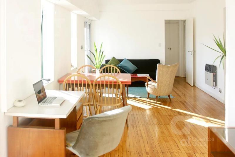san telmo. 2 ambientes con balcón en alquiler temporario