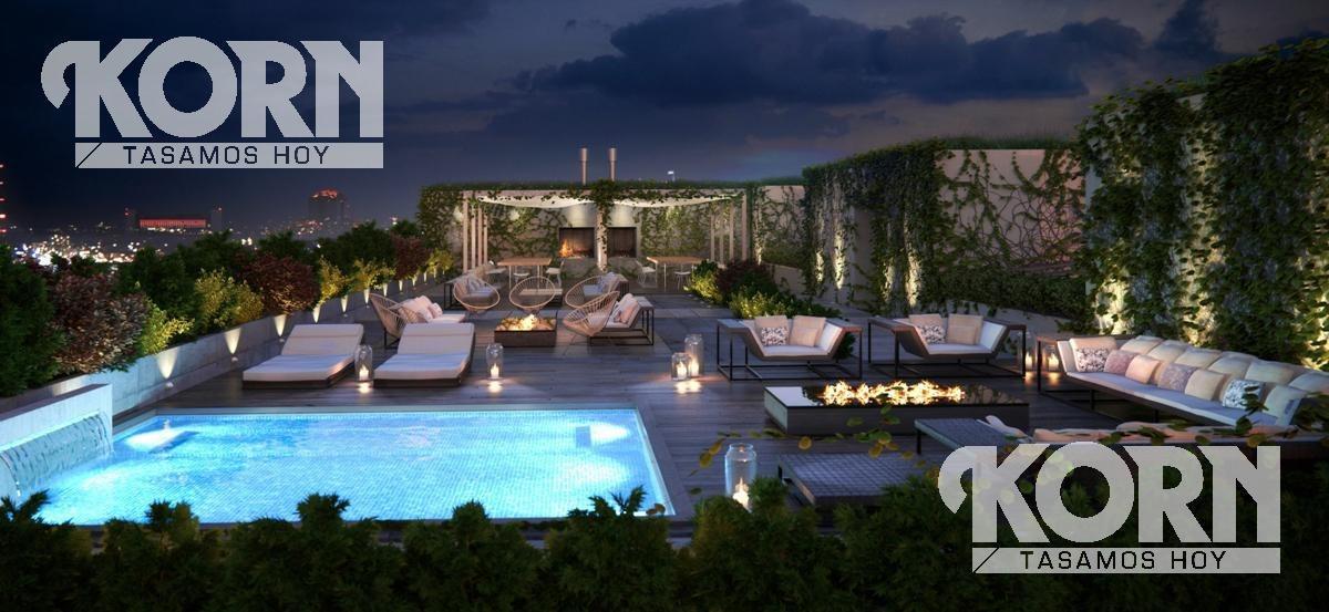 san telmo - departamento en venta de 2 ambientes con terraza en construccion