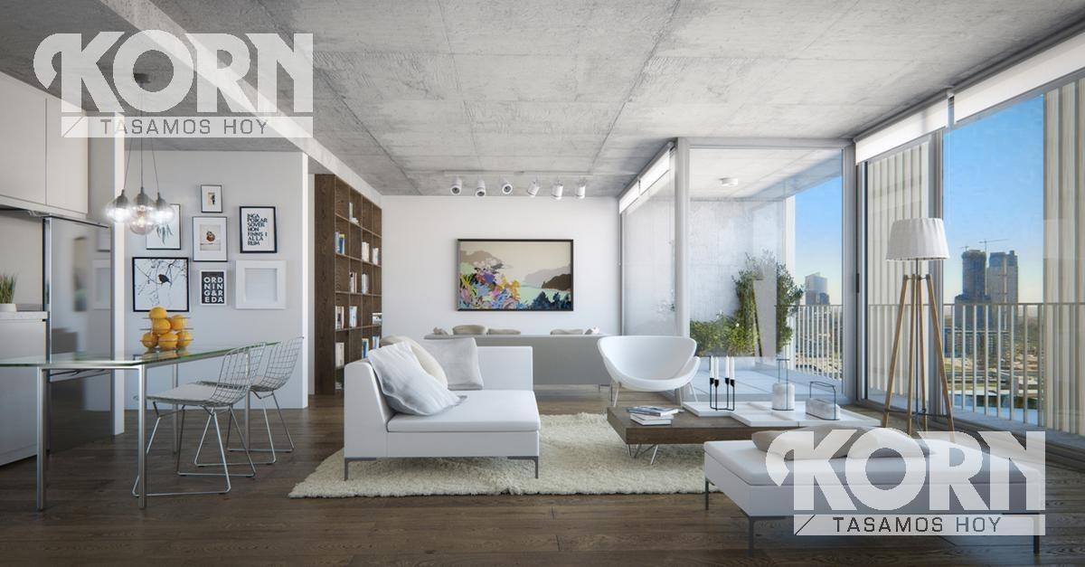 san telmo - departamento en venta de 2 ambientes en construccion