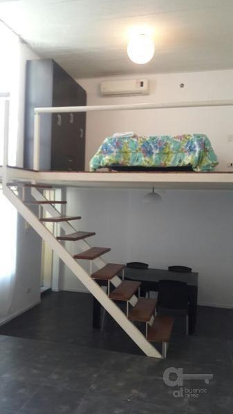 san telmo - duplex ideal estudiantes- amoblado y equipado - alquiler temporario sin garantía