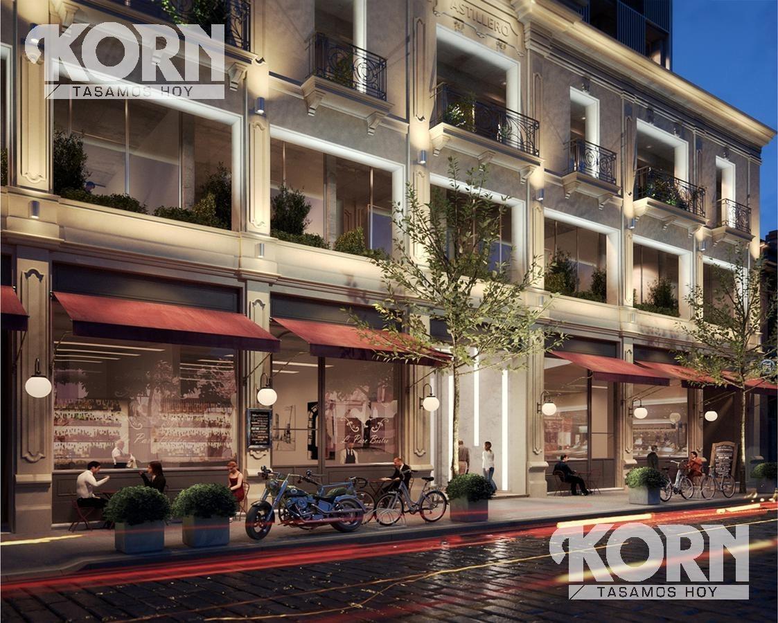 san telmo - estudio profesional - venta 1 ambiente c/balcon terraza en construccion