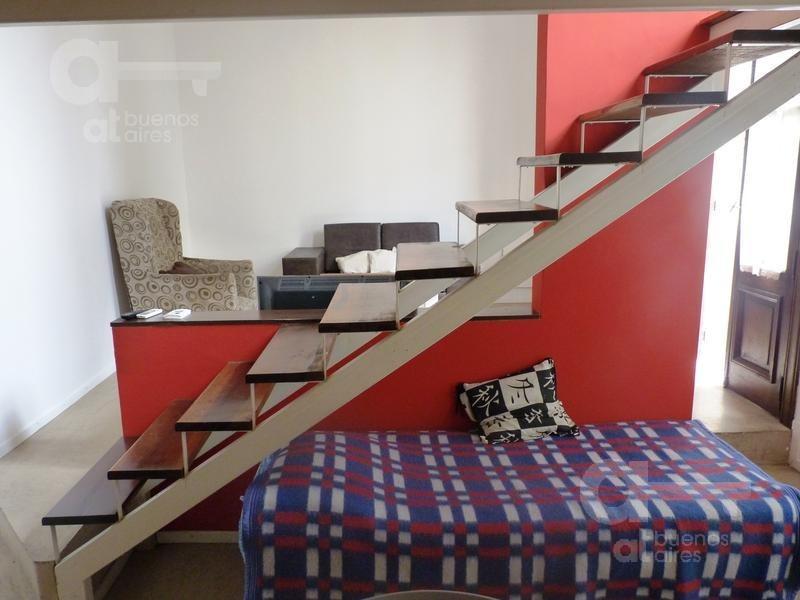 san telmo - ph 2 amb.- amplio- terraza - espacios amplios -alquiler temporario sin garantía-