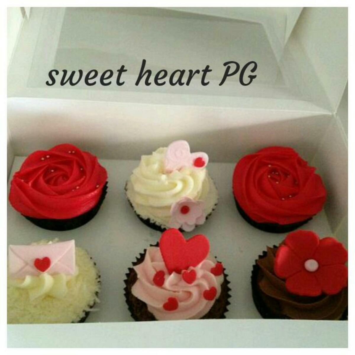 San Valentin Dia Enamorados Regalo Original Cupcake Y Cookie  ~ Regalos Originales San Valentin